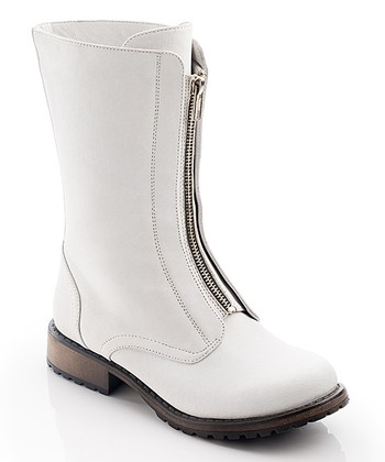 White Ariana Boot