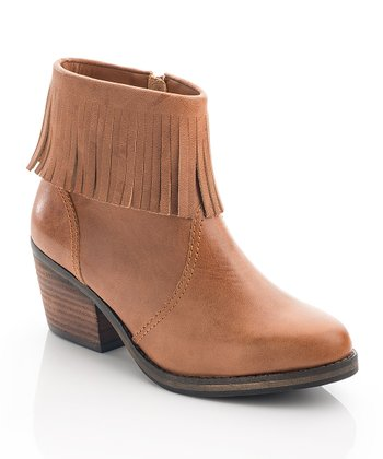 Cognac Lucy Ankle Boot