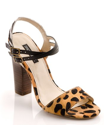 Animal Pony Hair Carol Sandal