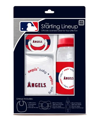 Los Angeles Angels Baby Gift Set