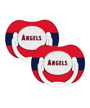 Los Angeles Angels Pacifier - Set of Two