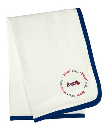 Atlanta Braves Stroller Blanket
