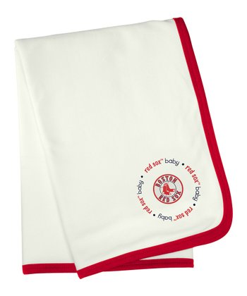 Boston Red Sox Stroller Blanket