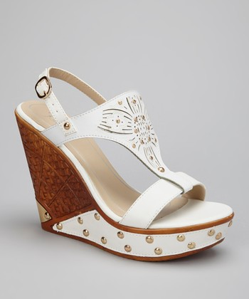 White Dolores-01 Wedge
