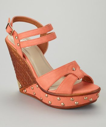 Coral Dolores-04 Wedge Sandal