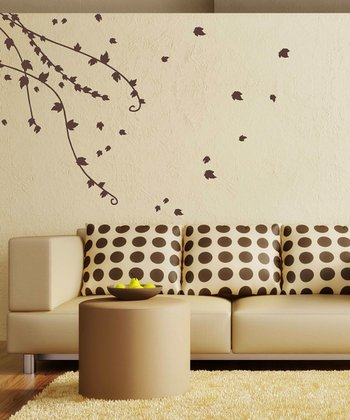 Brown Climbing Ivy Wall Decal Set