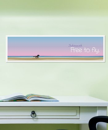 Personalized 'Free to Fly' Wall Art