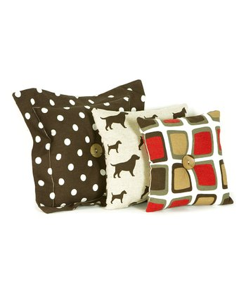 Houndstooth Pillow Set