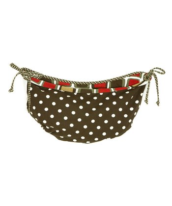 Houndstooth Toy Bag