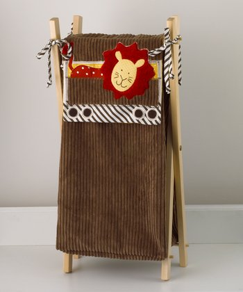 Animal Tracks Laundry Hamper