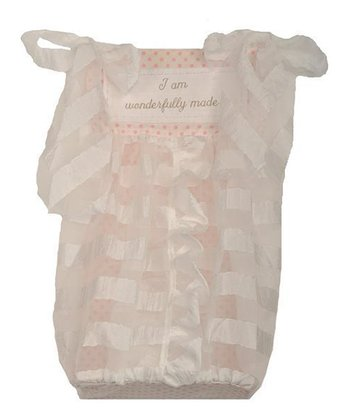 Pink 'Wonderfully Made' Diaper Caddy