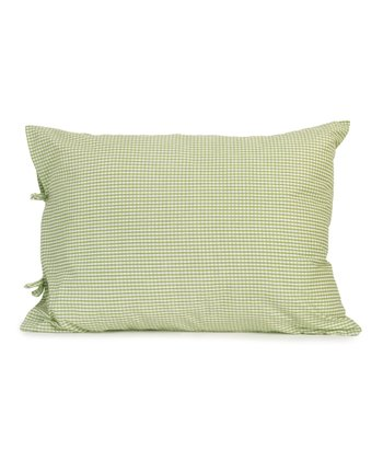 Green Flower Power Sham