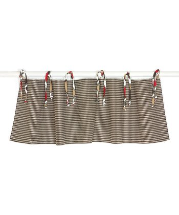 Tan & Brown Valance
