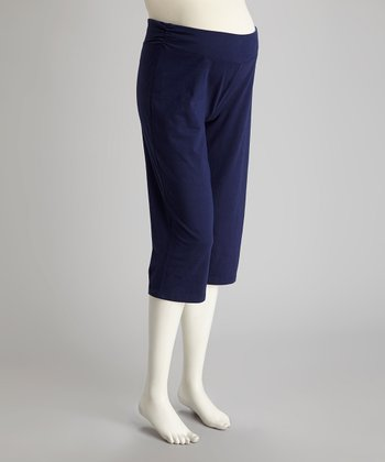 Blue Ocean Maternity Capri Pants