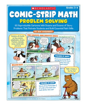 Comic-Strip Math: Problem Solving Paperback