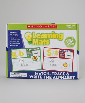 Learning Mats: Match, Trace & Write the Alphabet Set