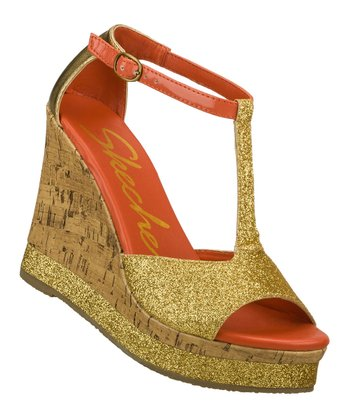 Gold Let's Groove Wedge