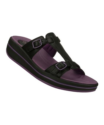 Black On the Run Sandal