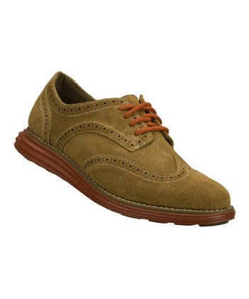 Tan Suede Groove Lite Oxford
