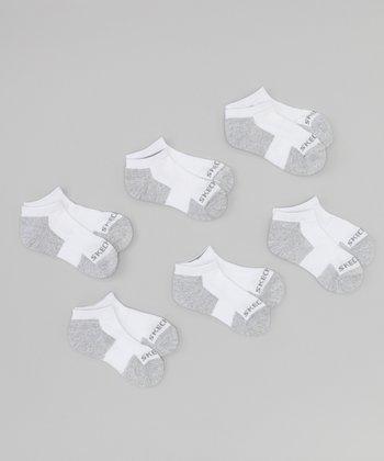 Gray Terry Low Socks Set
