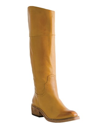 Tan Peyton Boot - Women
