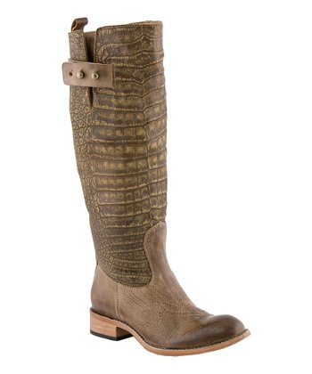 Tobacco Bailey Riding Boot - Women
