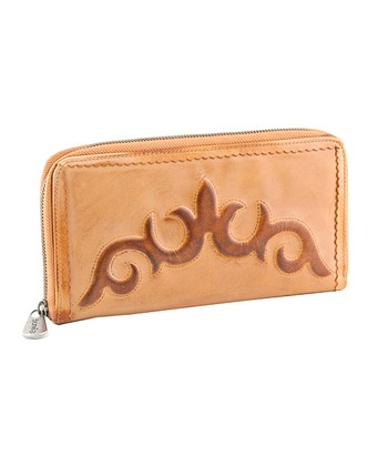 Amber Sahara Passport Clutch