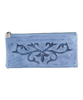 Denim Blue Sadie Clutch