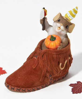 Brave Little Sole Mouse Figurine