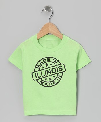 Key Lime 'Made in Illinois' Tee - Toddler & Kids