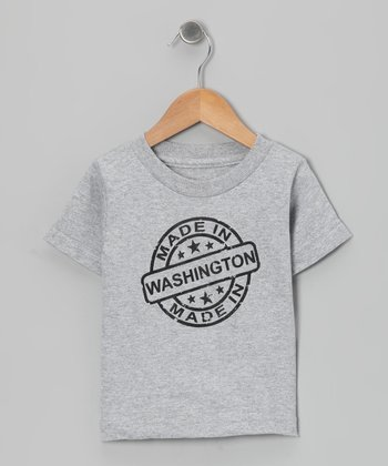 Athletic Heather 'Made in Washington' Tee - Toddler & Kids