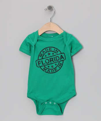 Kelly Green 'Made in Florida' Bodysuit - Infant