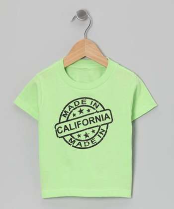 Key Lime 'Made in California' Tee - Toddler & Kids