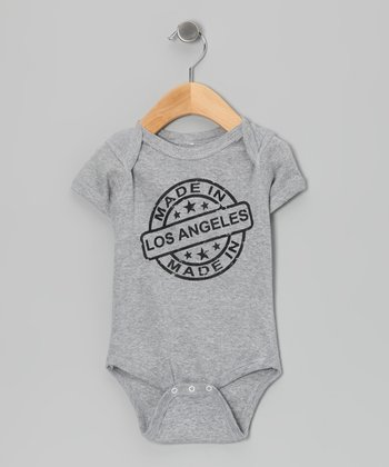 Athletic Heather 'Made in Los Angeles' Bodysuit - Infant