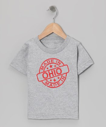 Athletic Heather 'Made in Ohio' Tee - Toddler & Kids
