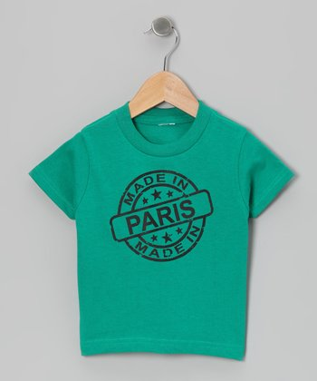 Kelly Green 'Made in Paris' Tee - Toddler & Kids