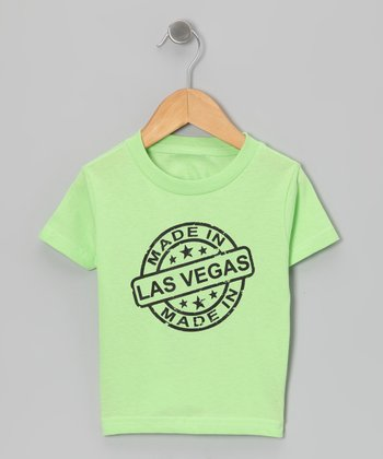 Key Lime 'Made in Las Vegas' Tee - Toddler & Kids
