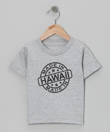 Athletic Heather 'Made in Hawaii' Tee - Toddler & Kids