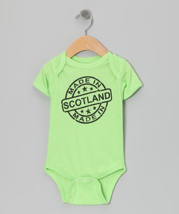Key Lime 'Made in Scotland' Bodysuit - Infant