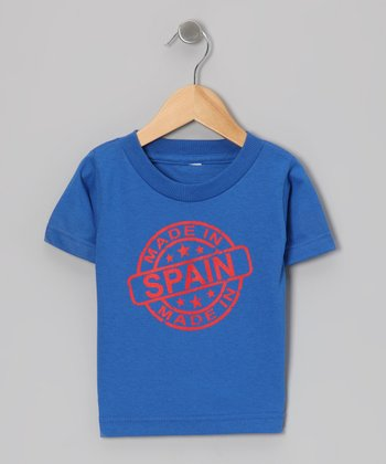 Royal Blue 'Made in Spain' Tee - Toddler & Kids