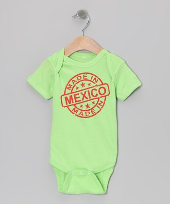 Key Lime 'Made in Mexico' Bodysuit - Infant