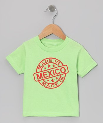 Key Lime 'Made in Mexico' Tee - Toddler & Kids