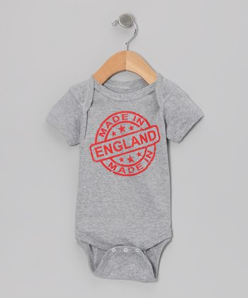 Athletic Heather 'Made in England' Bodysuit - Infant