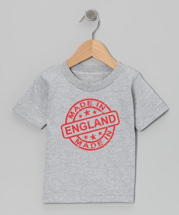 Athletic Heather 'Made in England' Tee - Toddler & Kids