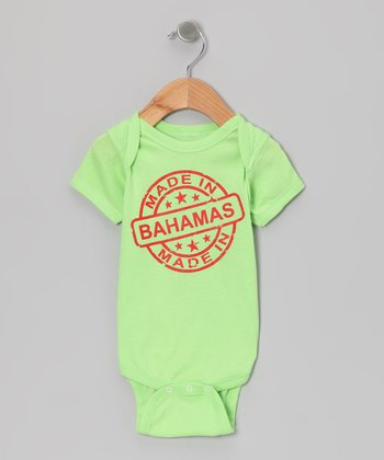 Key Lime 'Made in Bahamas' Bodysuit - Infant