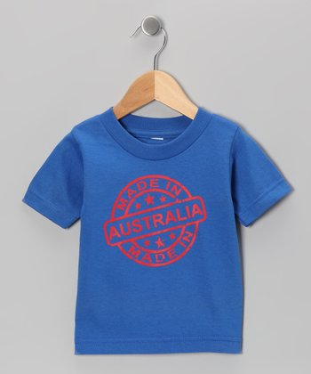 Royal Blue 'Made in Australia' Tee - Toddler & Kids
