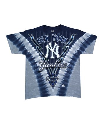 New York Yankees V Tie-Dye Tee - Boys