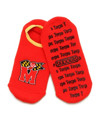 Maryland Terrapins Gripper Ankle Socks - Women