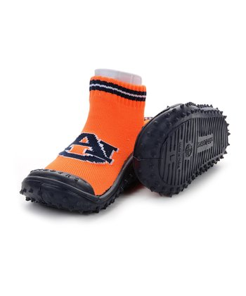 Orange & Blue Auburn Gripper Shoe - Kids
