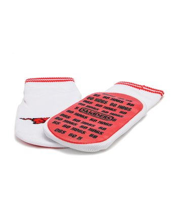 Arkansas Razorbacks Gripper Socks - Kids